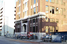 Birmingham News building - Sept. 2007