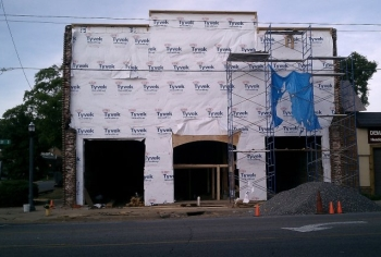 Avondale Brewing Co. home in progress. Courtesy of their fan page on Facebook.