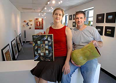 Red Dot Gallery owners