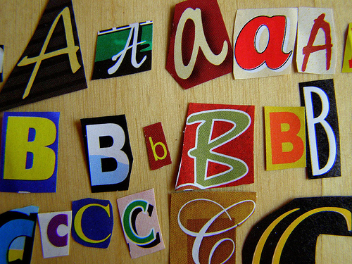 ABCs - Bethany L. King/Flickr