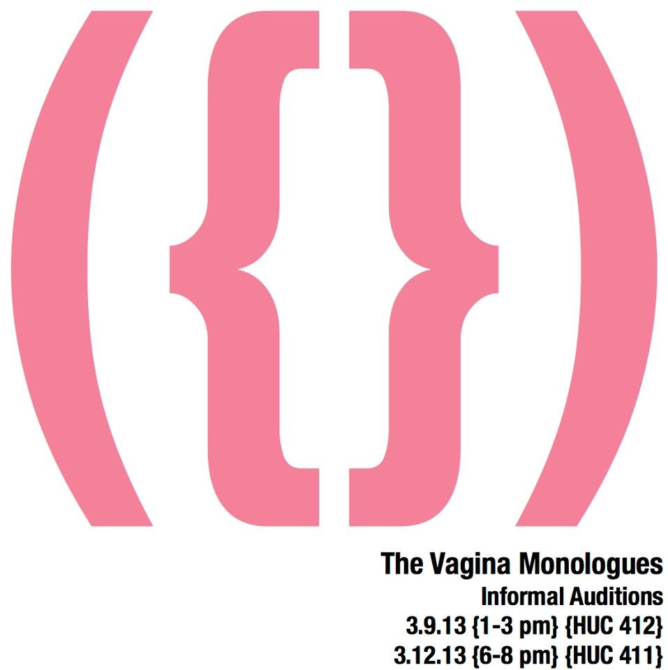 Vagina monologues committee consider, that